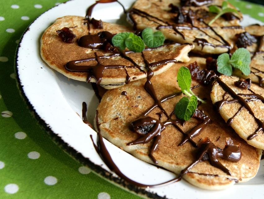 gryczane pancakes bez glutenu