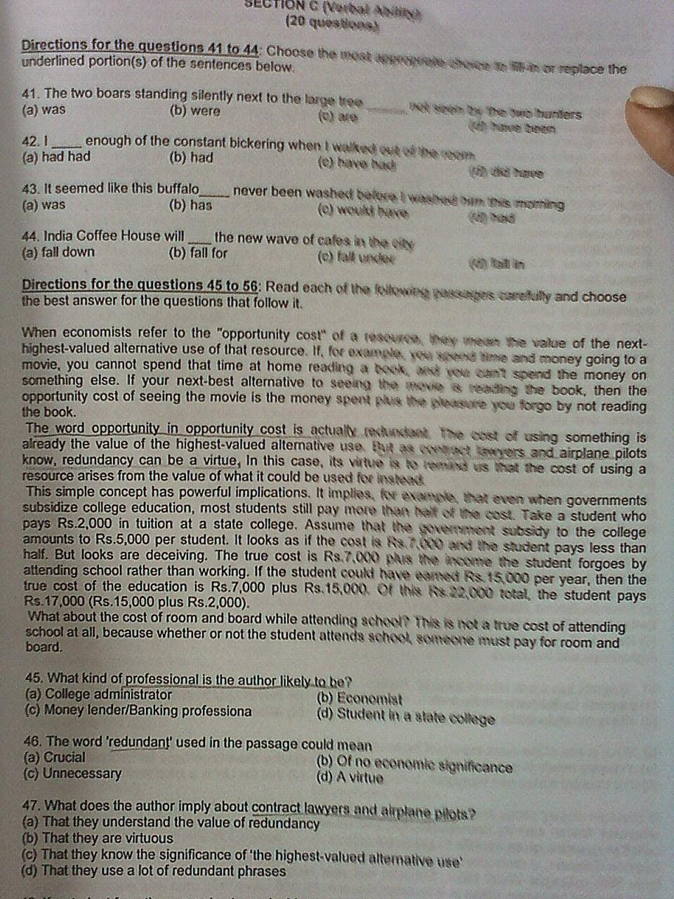 Pdf elitmus test papers
