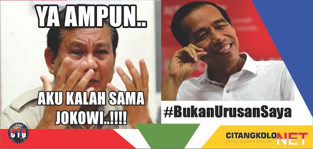 Kumpulan Meme Jokowi, Prabowo dari yang Realita, Nyinyir Hingga Satir