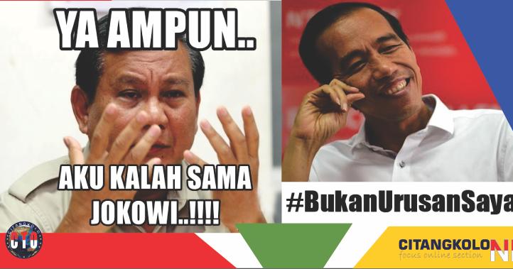 Meme Pilpres 2019  Kumpulan Meme Jokowi, Prabowo dari yang Realita, Nyinyir Hingga Satir