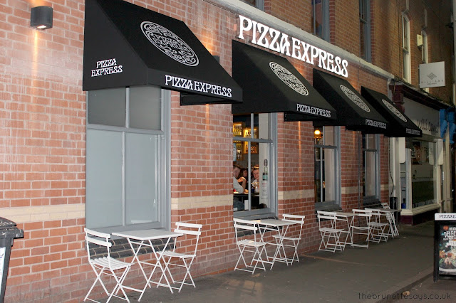 PizzaExpress, Leicester, food, Christmas