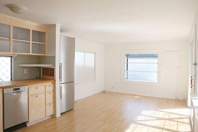 Arredare piccoli spazi: la mobilhome shabby chic di Rachel Ashwell before soggiorno