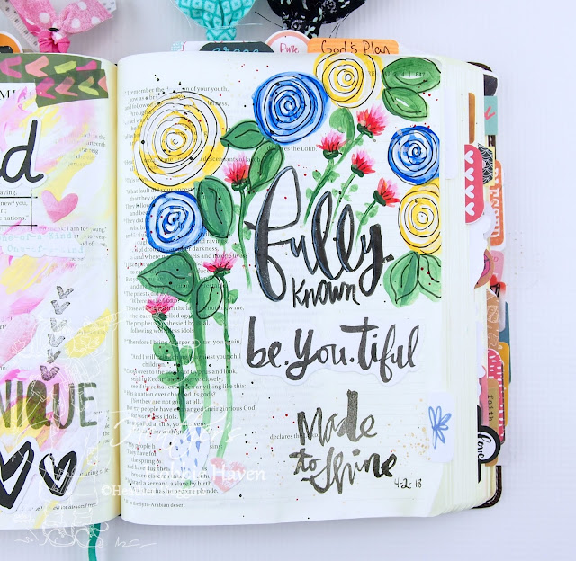 Heather's Hobbie Haven -Illustrated Faith - Only One You