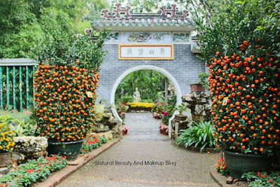 Jardim De Lou Lim Ioc Garden or Lou Lim Ieoc Garden in Macau, a Chinese theme park and a tourist spot of Macao