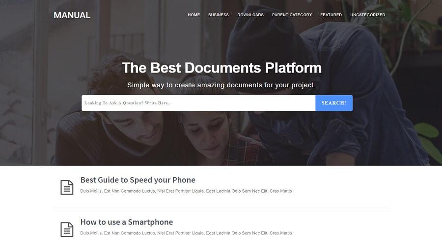 Manual v3.0 - Online Docs Blogger Template