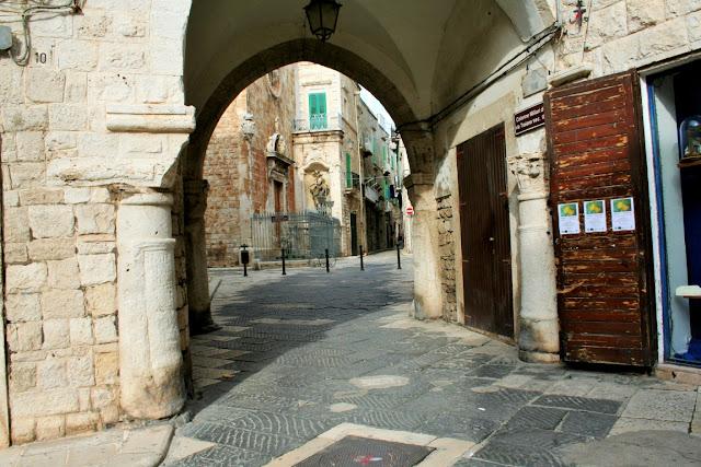 centro storico, via antica