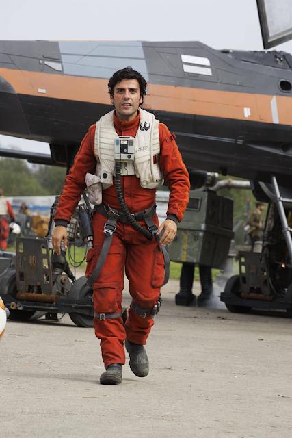 Oscar Isaac în rolul lui Poe Dameron