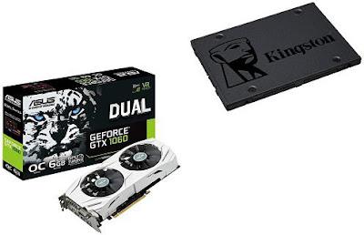 Asus DUAL-GTX1060-O6G (+SSD)