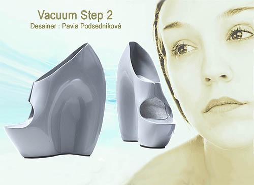 Desain  model sepatu wanita unik dan cantik