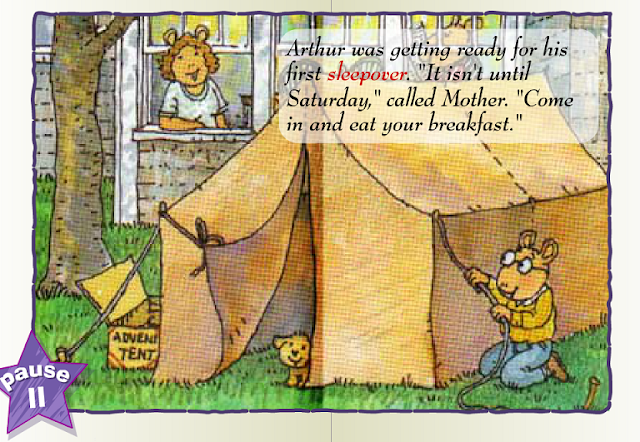Book 27 Arthur S First Sleepover English For Kids