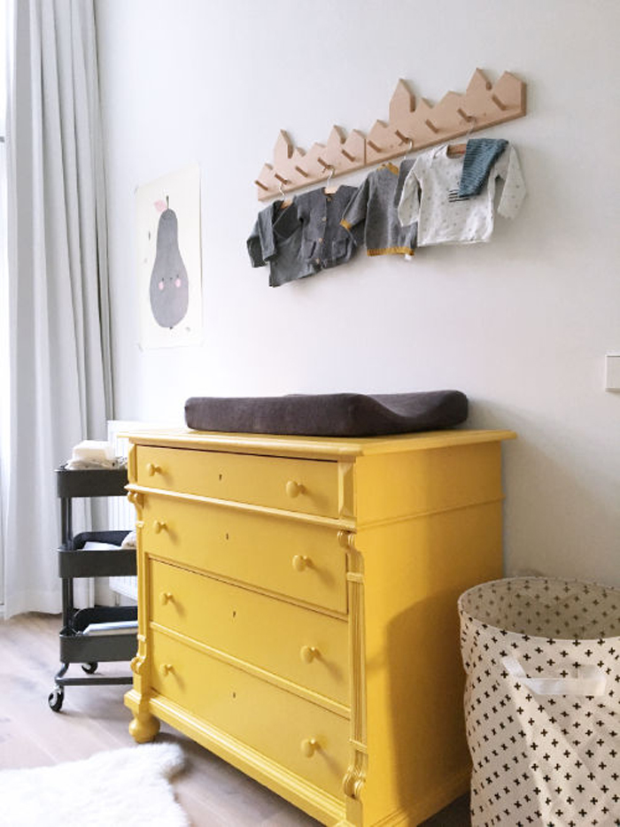 yellow in children rooms
