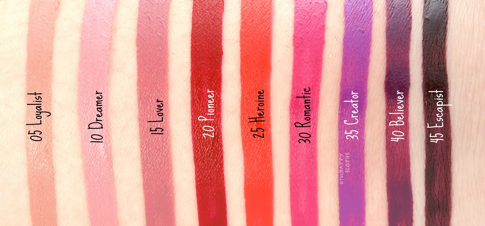 Maybelline Superstay Matte Ink Liquid Lipstick  Review and Swatches 861011dbd79