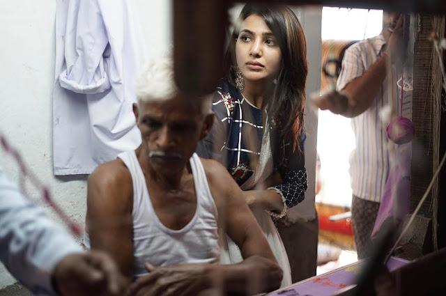samantha latest images at dubbaka handlooms society