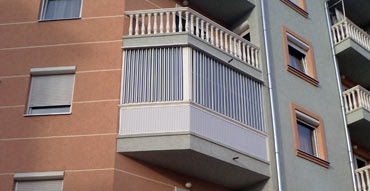 pregradjena terasa leksanom