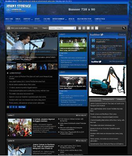 Johny Storage Dark Blogger Template Gratis Free Download