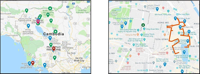 google my maps examples