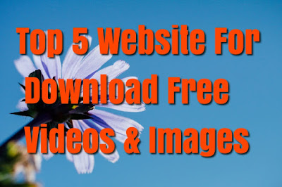 Top 5 Website For Download Free Videos & Images