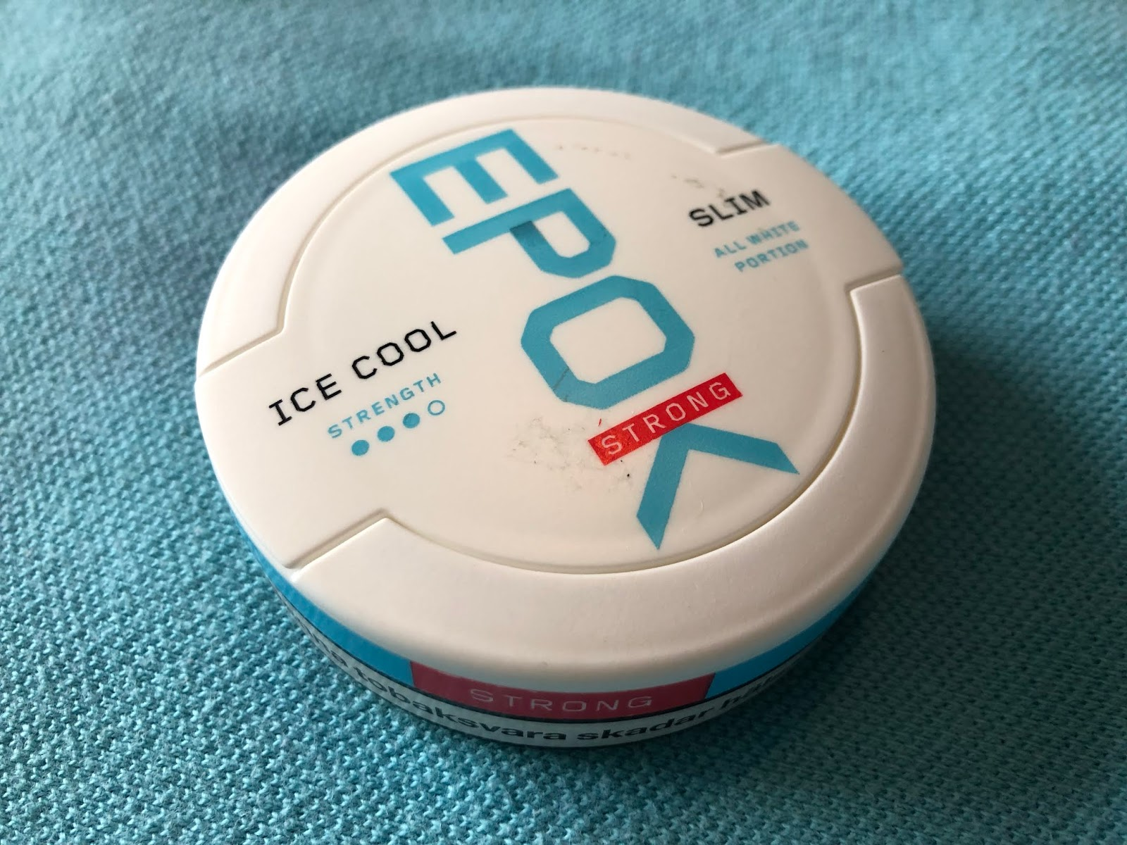 38f620d77dd4 Snubie.com  Epok Ice Cool Mint (Strong) - Review. 8 June 2016.