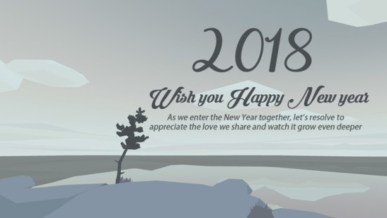 Latest Happy New Year Wishes 2018 Quotes For Friends And Family ...
