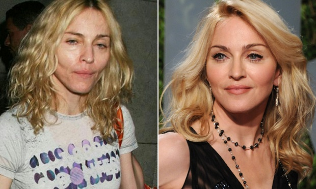 Madonna sem maquiagem