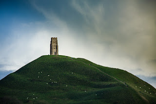 Glastonbury Tor; Somerset, England