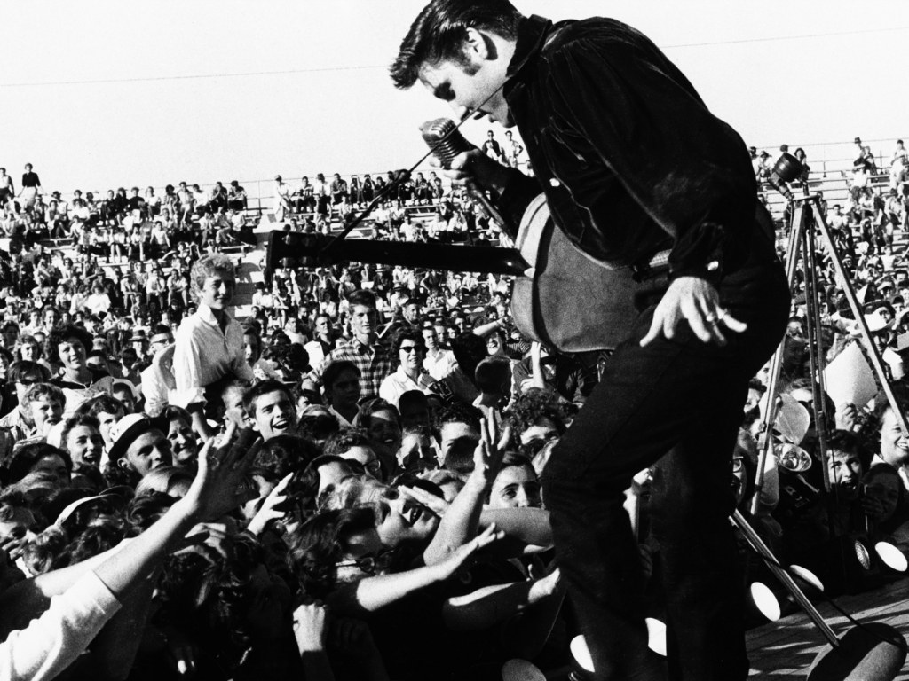 1024x768 Free Wallpapers For Desktop Elvis Presley And Fans