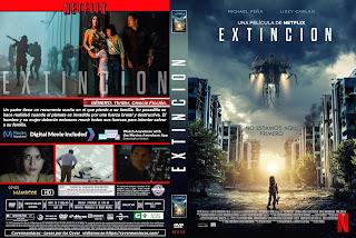 CARATULAEXTINCION - EXTINCTION - 2018