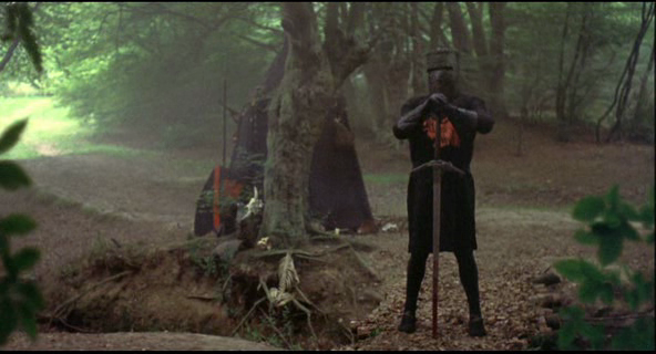 Holy Monty Knight Quest Grail Black And Python