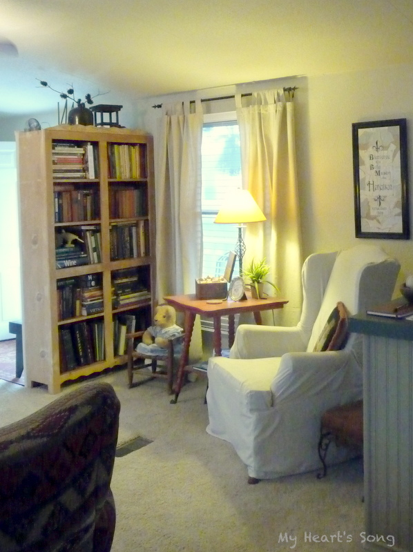 My Heart's Song: Mobile Home-Living Room Remodel