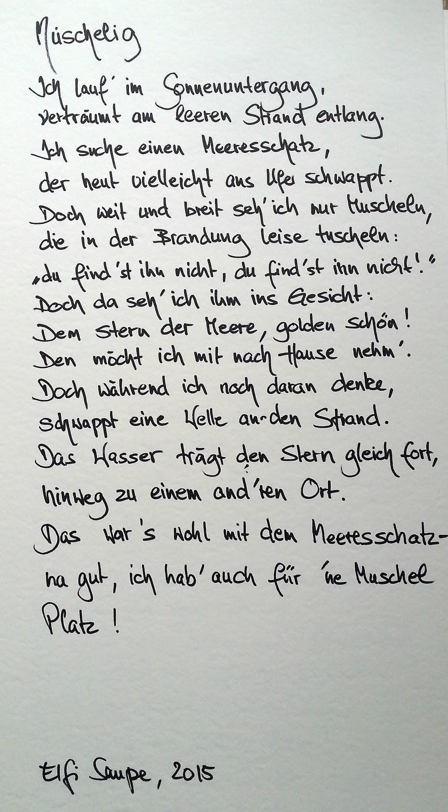 Kunst Und Mehr Auf Elfi Art Mal N Reim 9 Gedichte Auf Elfi Art