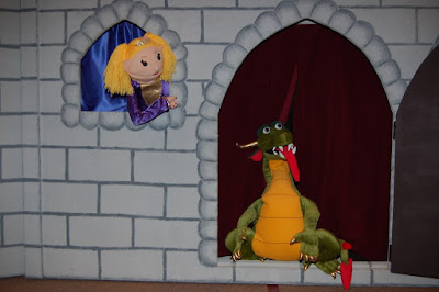 children's church, puppet stages