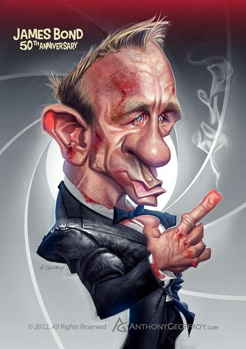 06-Daniel-Craig-James-Bond-007-Anthony-Geoffroy-Caricature-Illustrations-Comics-www-designstack-co