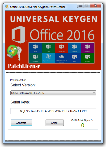 microsoft office 2016 professional plus product key 100 working