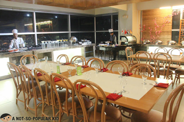 Interior of Sparkz Restobar in Cebu