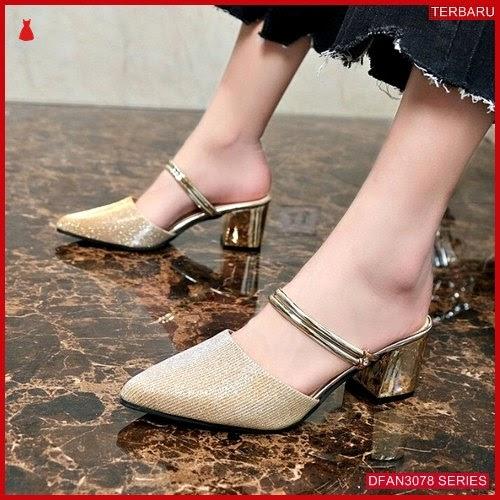 DFAN3078S149 Sepatu Ad01 Hak Tahu Wanita Sepatu Hak BMGShop