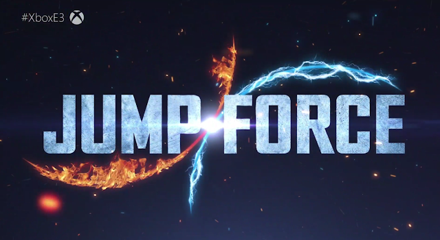 Jump Force logo Bandai Namco anime One Piece Dragon Ball Naruto Xbox One Microsoft E3 2018