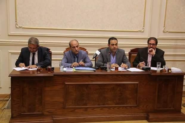 عبد العزيز يشهد اجتماع لجنة الشباب والرياضة بمجلس النواب