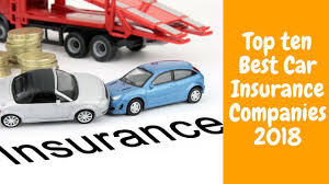 Best Car Insurance Companies of 2018