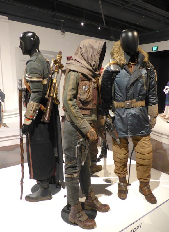 Star Wars Rogue One film costumes
