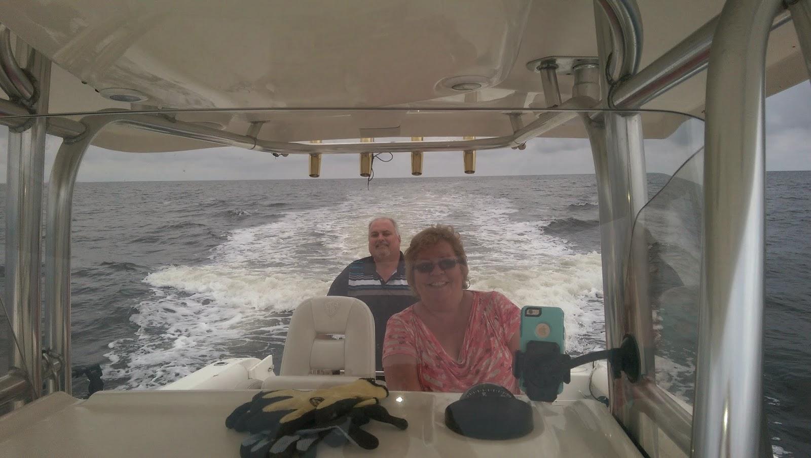 Panacea Fishing - Steve, Lorraine