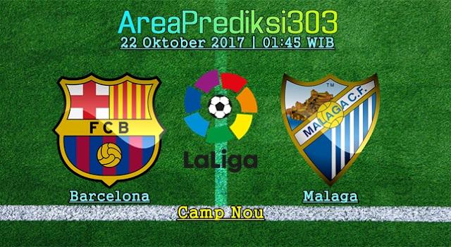 Prediksi Jitu Barcelona vs Malaga 22 Oktober 2017
