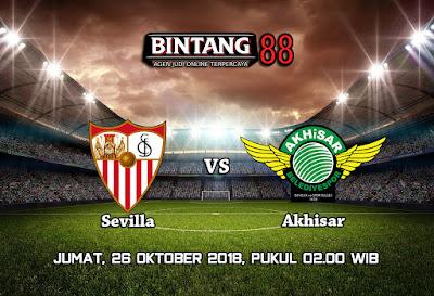 Predksi Sevilla VS Akhisar Genclik Spor 26 Oktober 2018