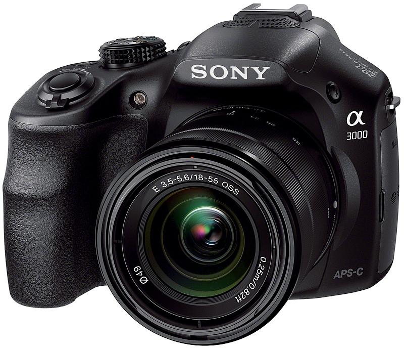 6cdd9601673 A Sony A3000 não segue em nada o padrão das mirrorless Sony
