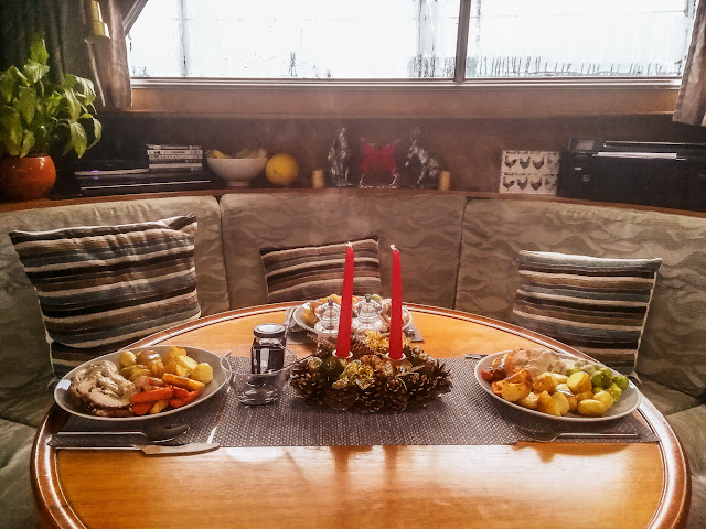 Photo of Christmas dinner for three on Ravensdale