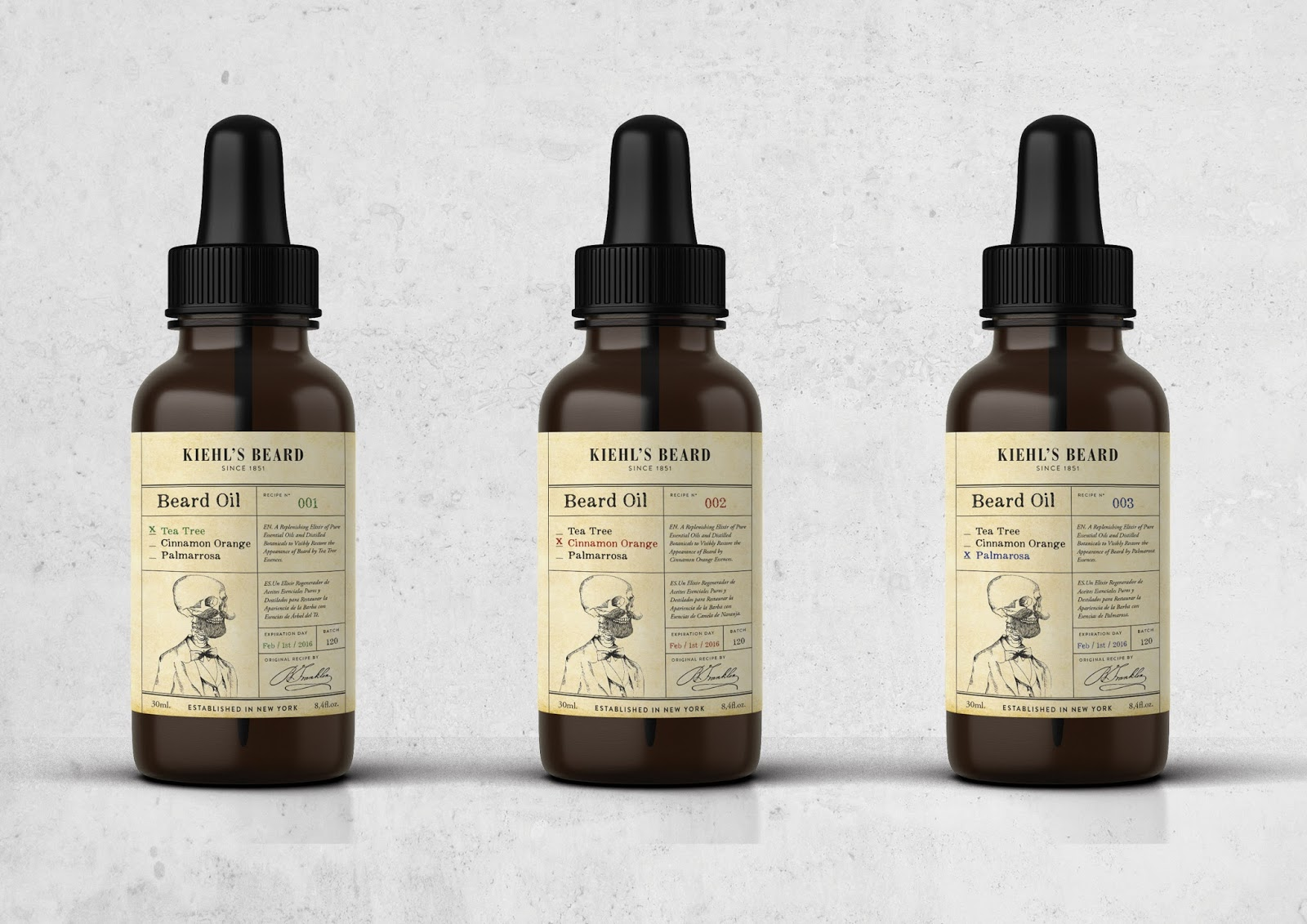 Kiehl's Beard Label