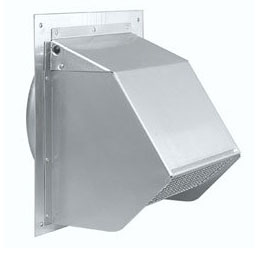 duct for range hood - wall cap to vent the hood outdoors