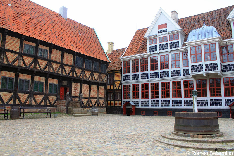 Mayor's House and Mintmaster's Mansion Den Gamle By Aarhus Denmark