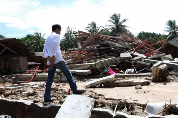 Belum Pernah Ada Presiden Datang ke Lokasi Bencana Tanpa Membawa Bantuan, Baru Kali Ini