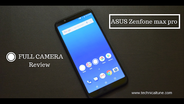 Asus zenfone max pro camera review