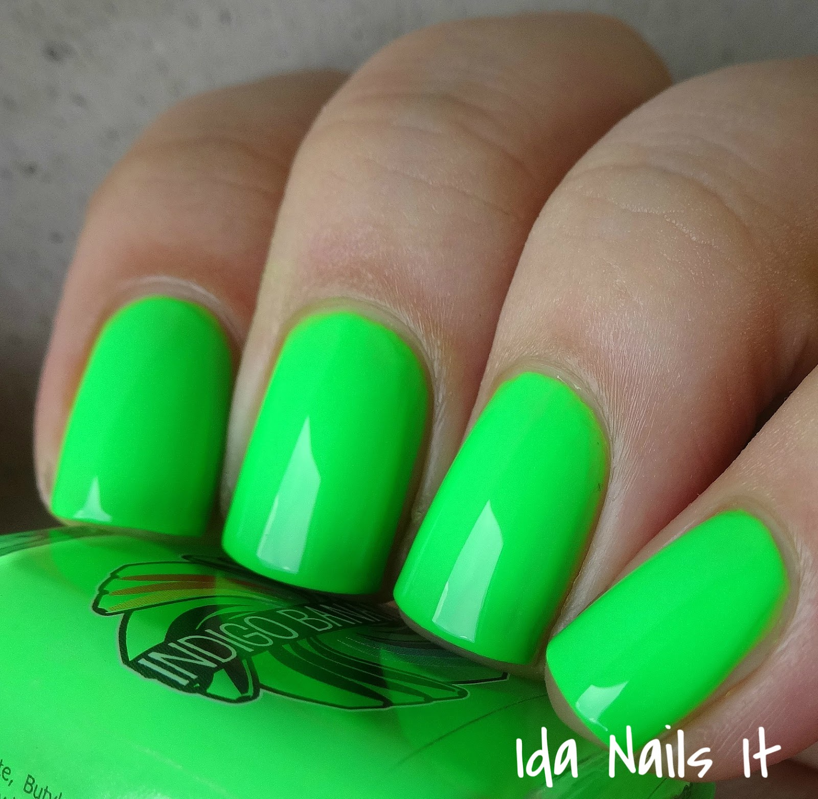 Ida Nails It Indigo Bananas Neon The 10th Element Collection Swatches And Review